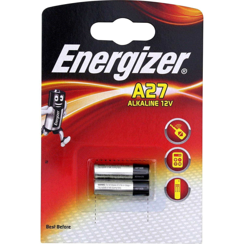 Piles 12v A27 Energizer Style De Cheveux
