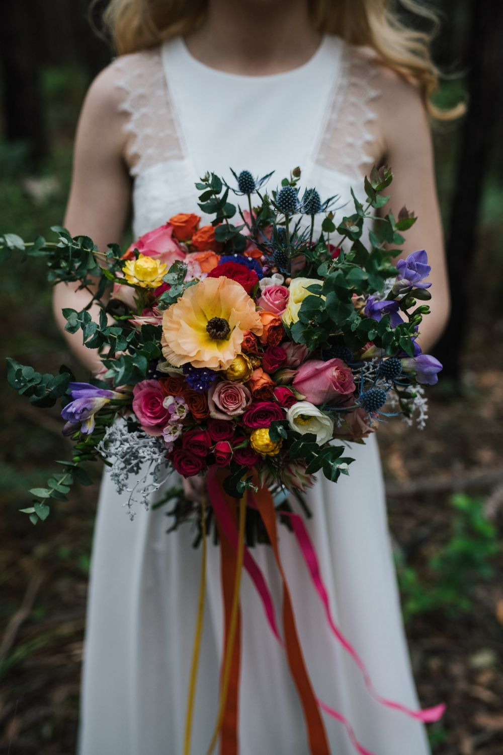 Colourful & FloralFilled Forest Wedding Inspiration