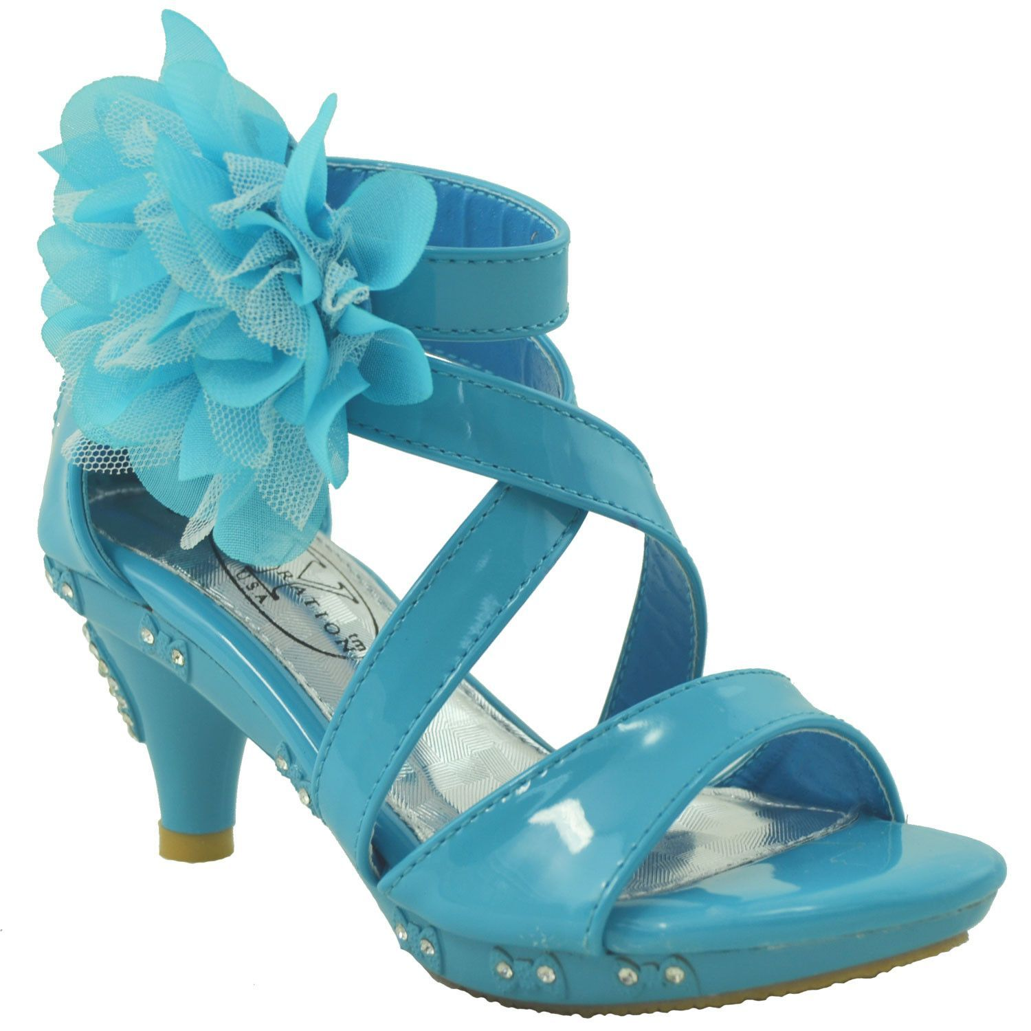 Whether it\'s for a pageant, wedding or party, this adorable shoe is ...