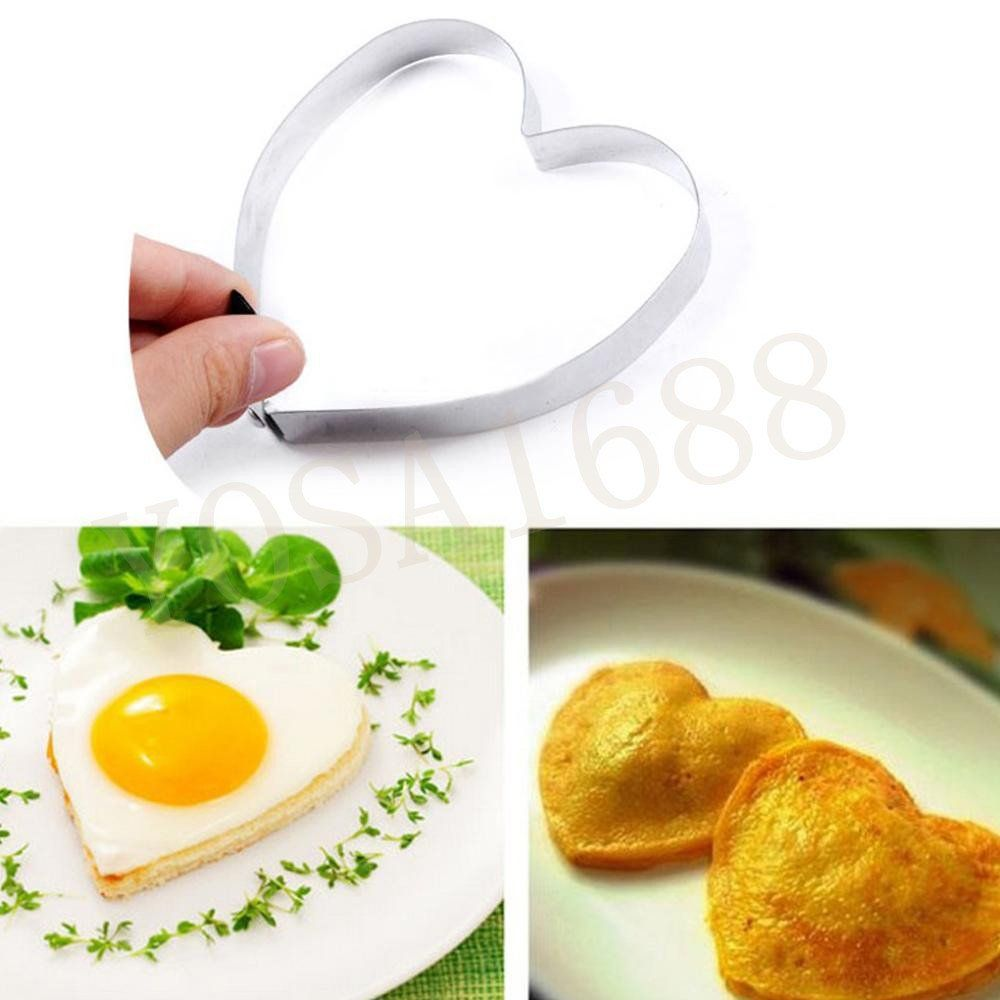 Image result for fried egg pancake stainless steel heart shaped mould