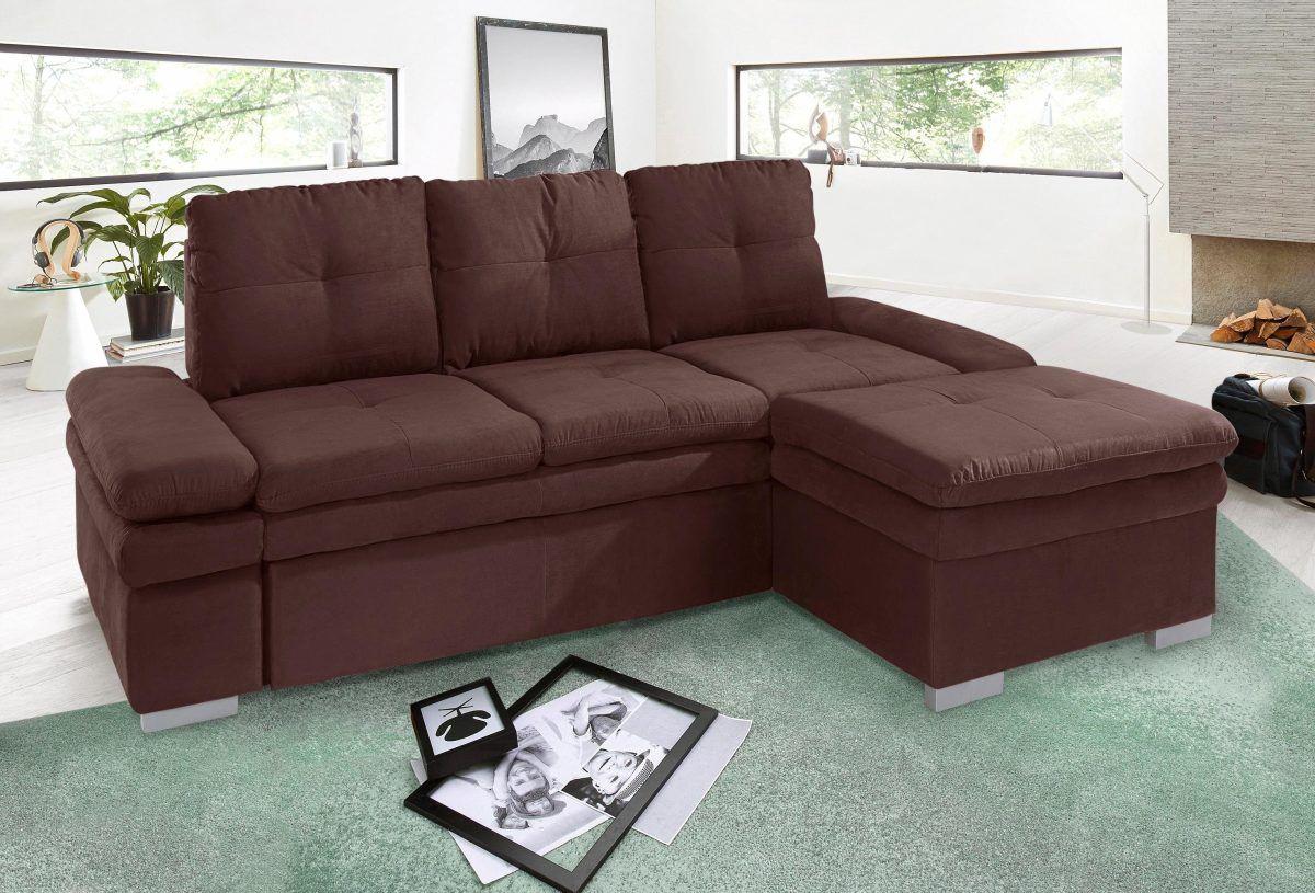 Außergewöhnlich Sofa Mit Sitztiefenverstellung Galerie Von Cotta Ecksofa Braun, Sitztiefenverstellung, Recamiere Rechts, Fsc®-zertifiziert