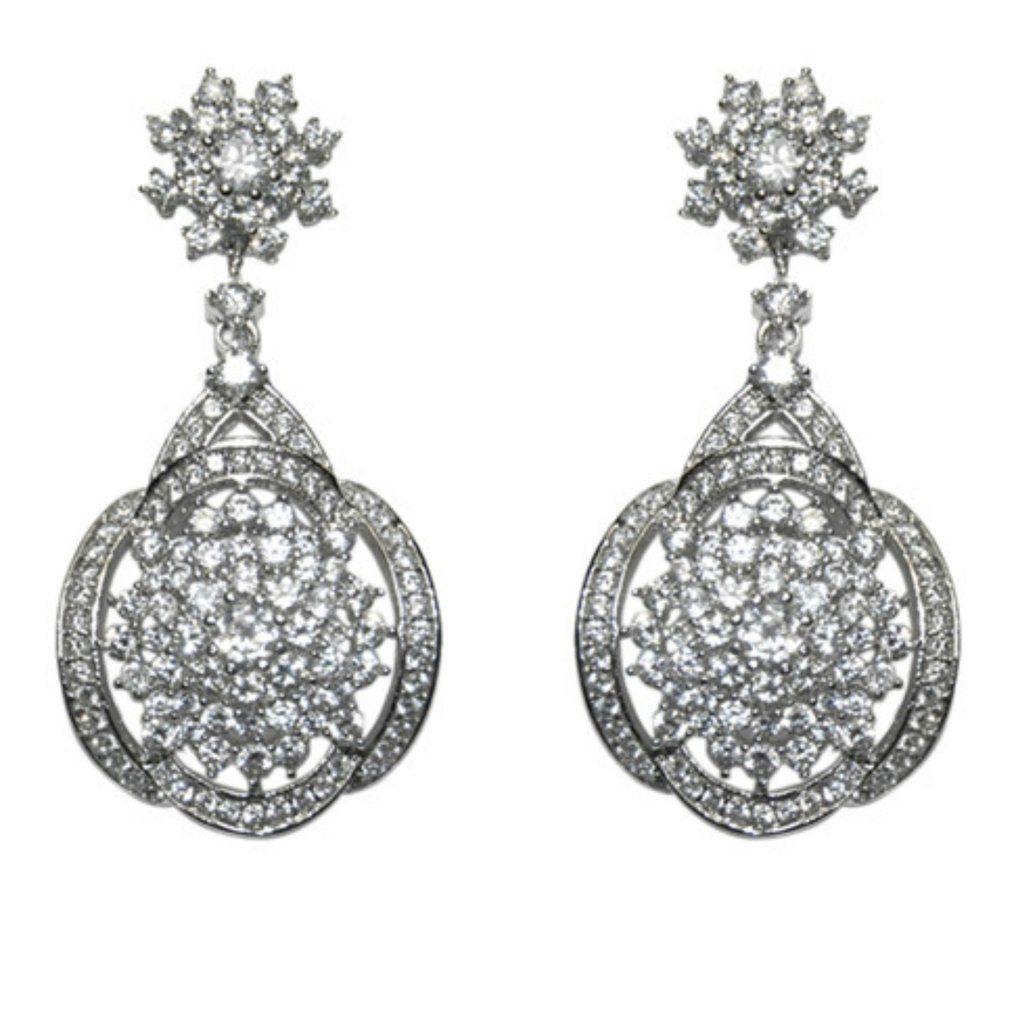 Josnelle cz statement chandelier earrings cubic zirconia josnelle cz statement chandelier earrings cubic zirconia arubaitofo Choice Image
