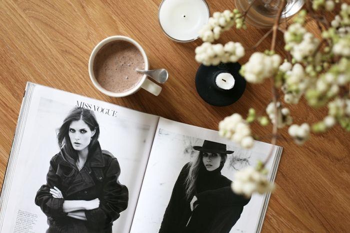 Raw chocolate milk. Sara K./Trendi