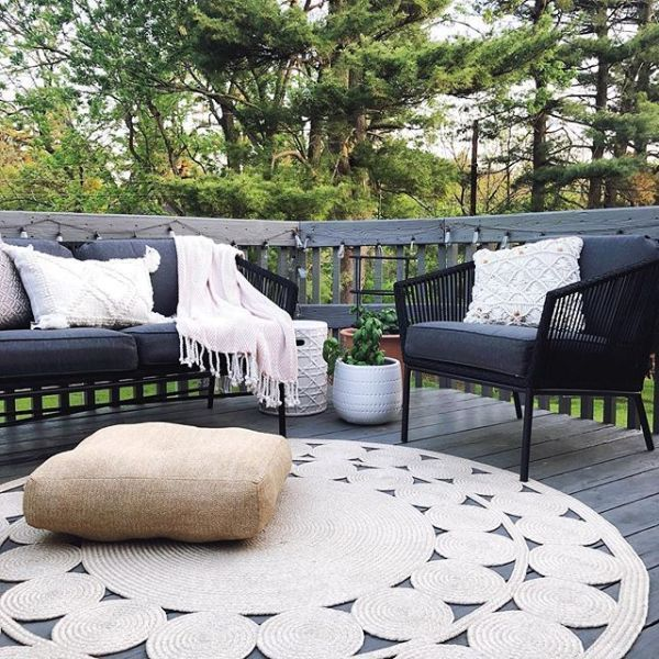 Add a touch of functional style to your balcony, patio or