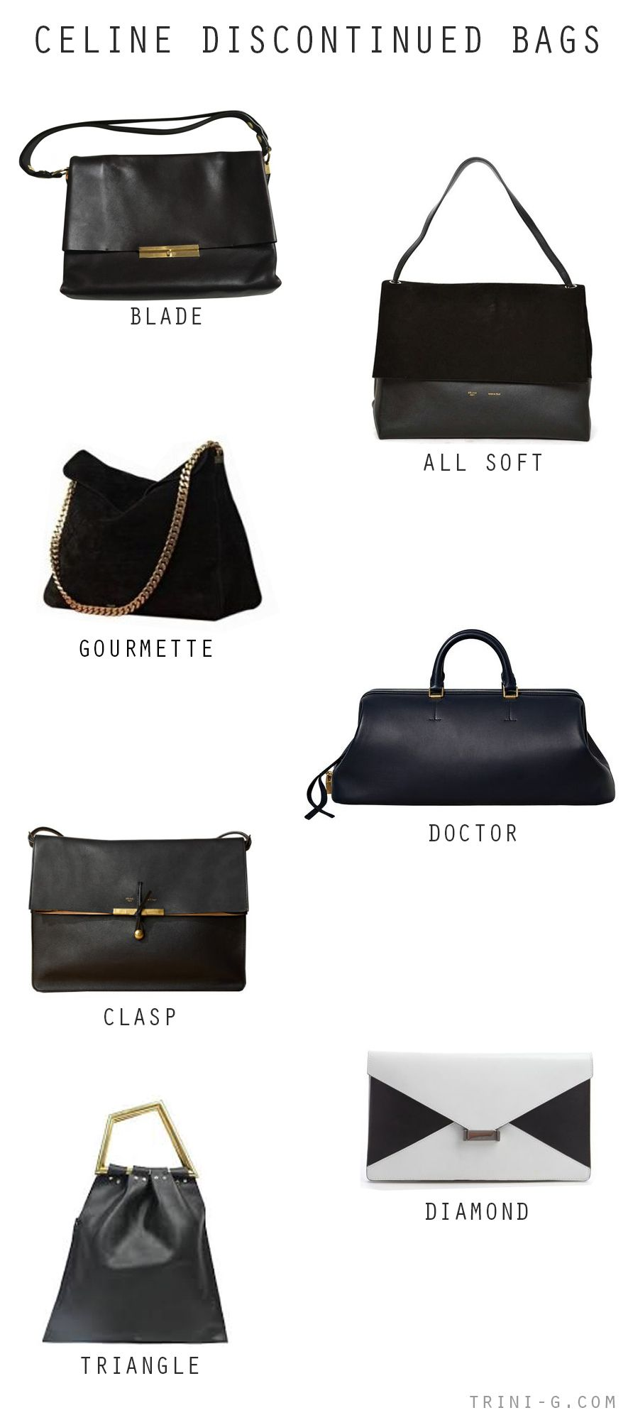 Trini Blog Celine Discontinued Bags