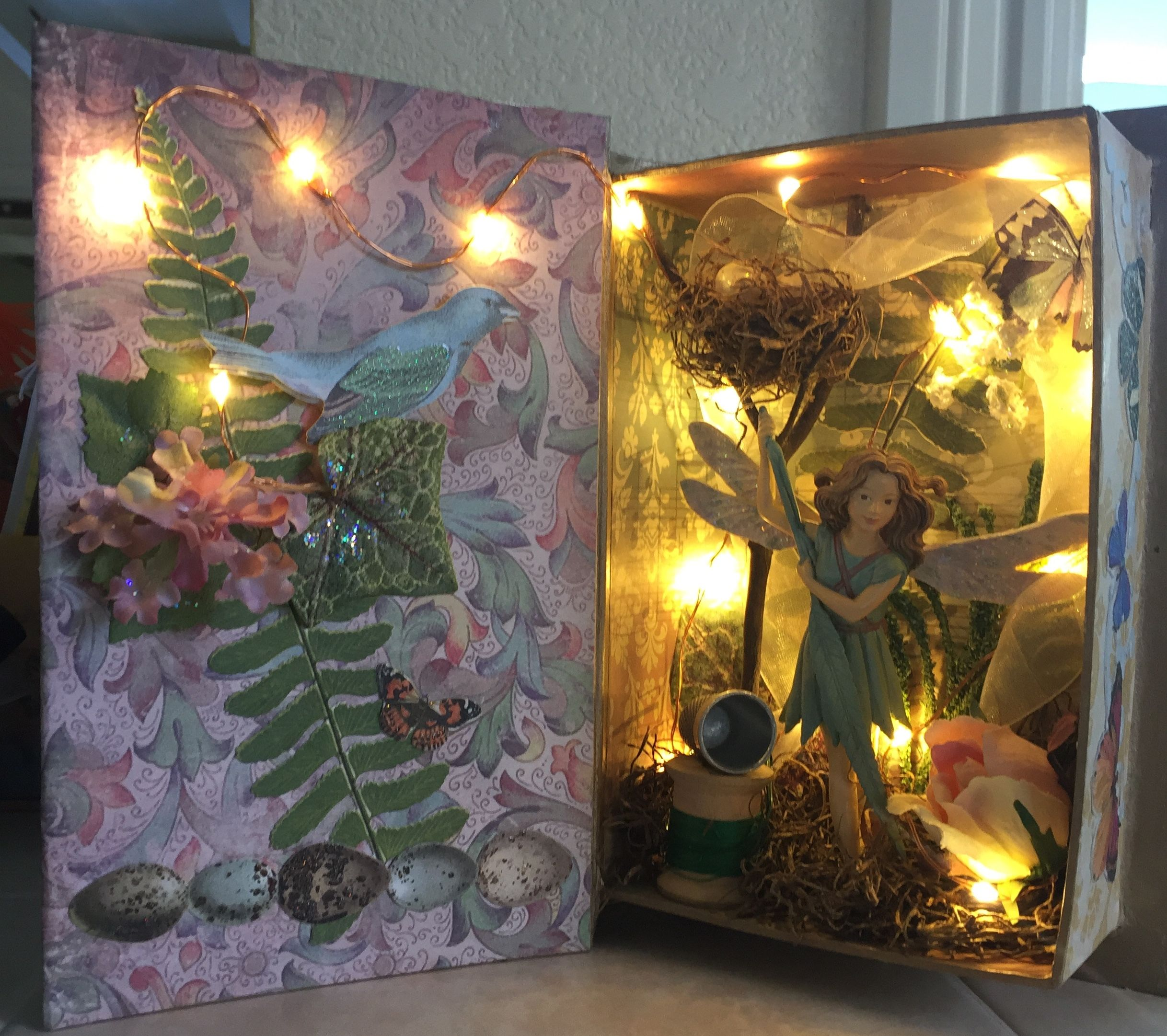 Fairy Diorama With Lights Box Art