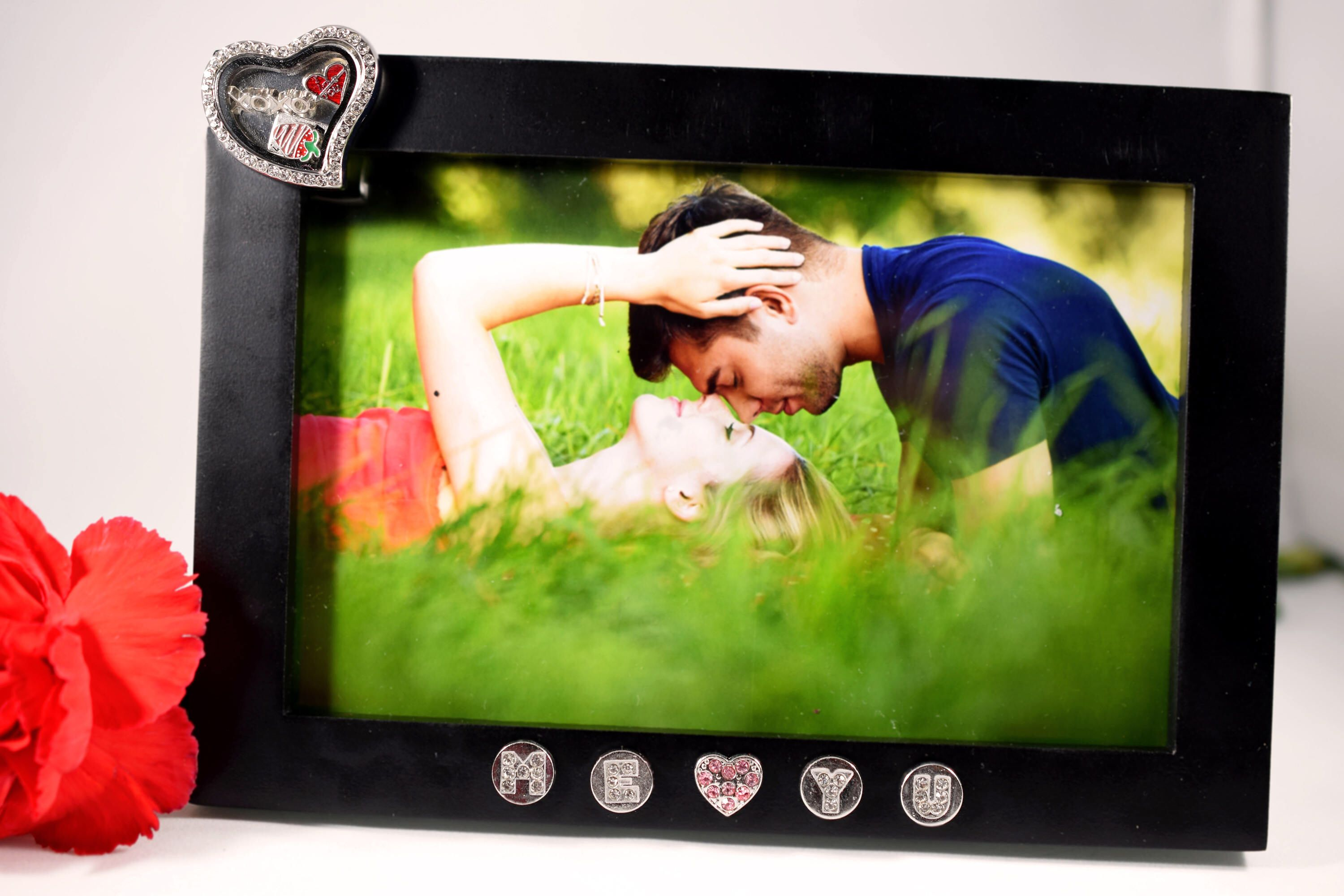 Romantic Gift For Her, Boyfriend Girlfriend Picture Frame, Personalized Gift