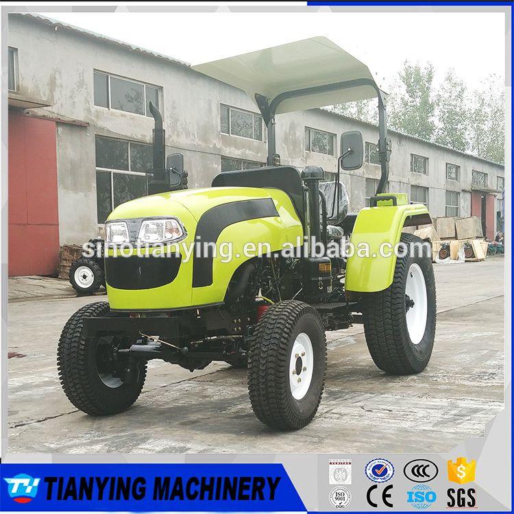 Multipurpose 4 Wheel Drive Mini Farm Garden Tractor 35hp