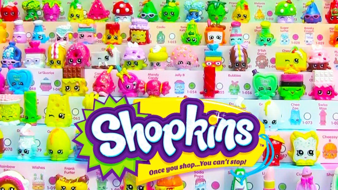 SHOPKINS X5O LOOSE STICKERS