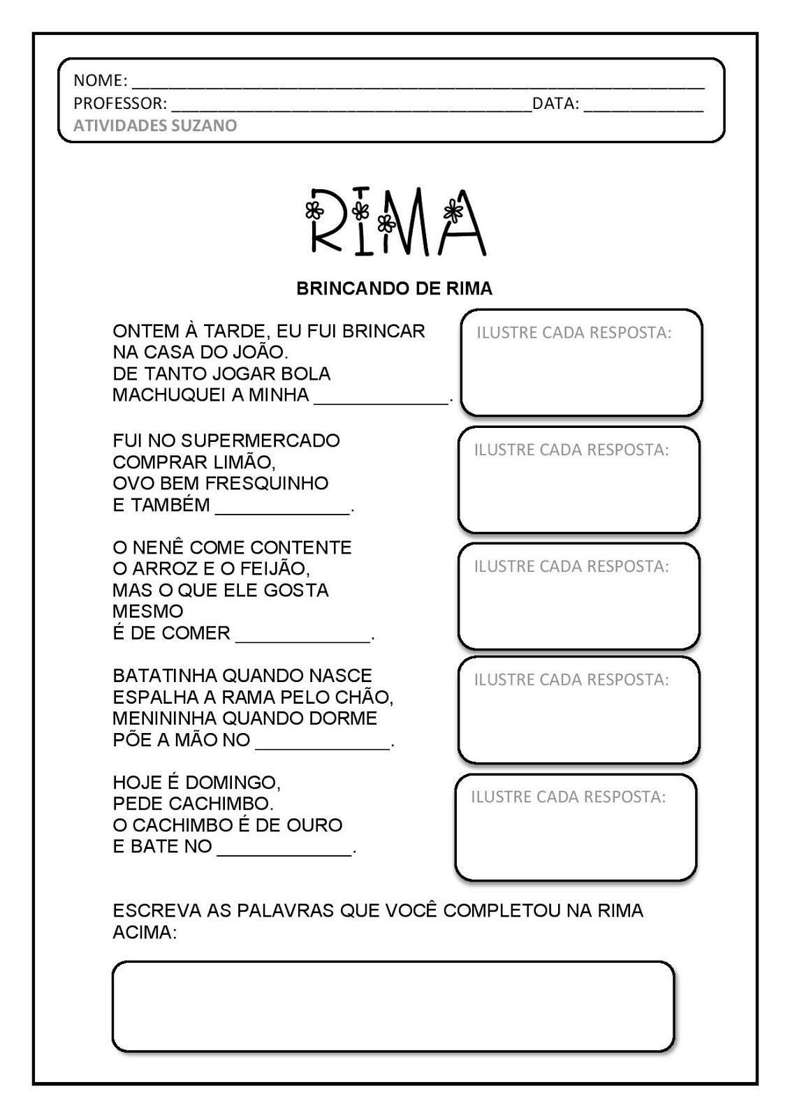 Pin Em Producao De Texto