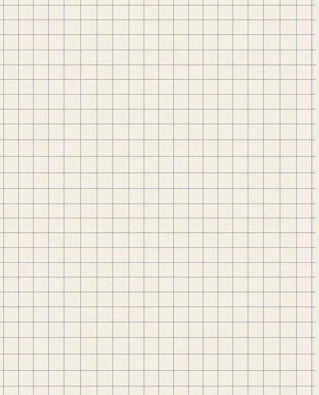 Tapete Eijffinger 364021 Kariertes Papier Papierschablonen Papier