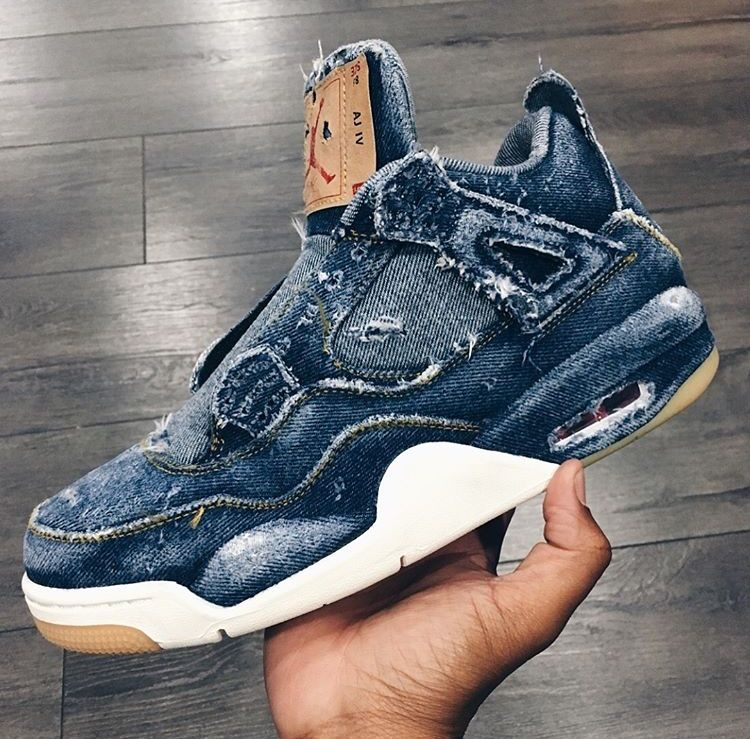 "a7818d63dfb Levi's x Air Jordan 4 ""Distressed"" 