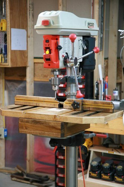 Shopnotes Drill Press Table Shop Notes Drill Press
