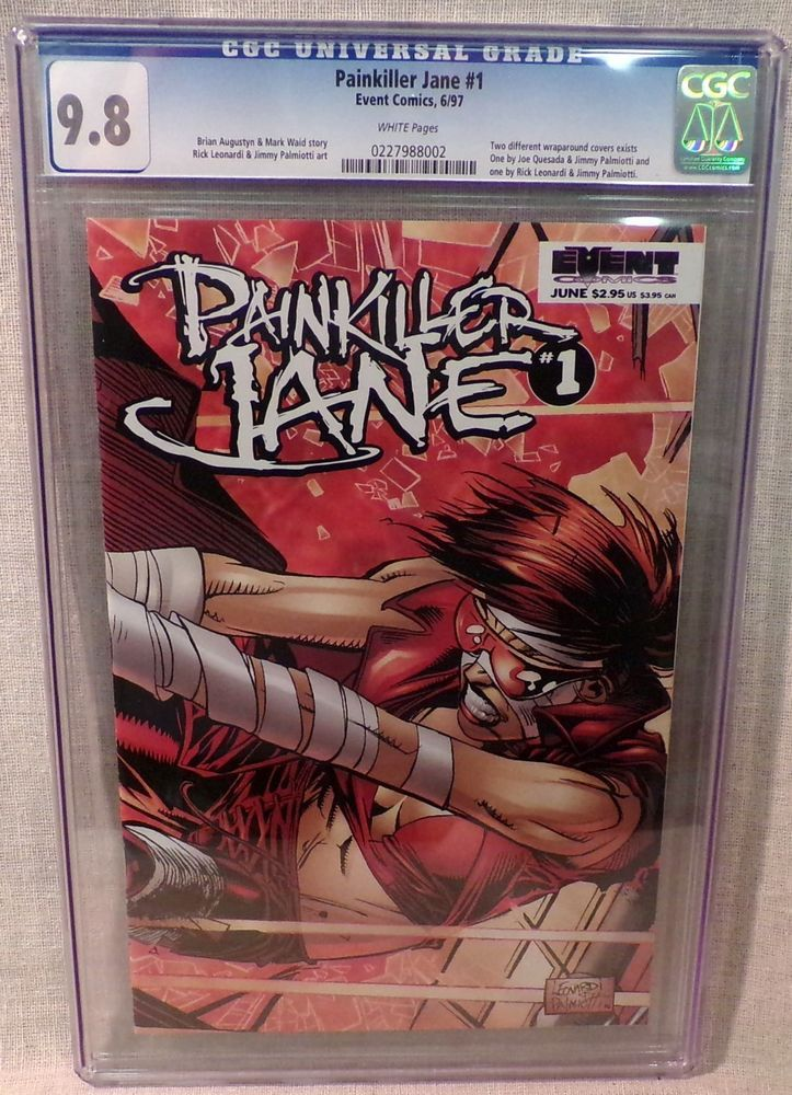 Cgc graded event comic painkiller jane 1997 issue no1