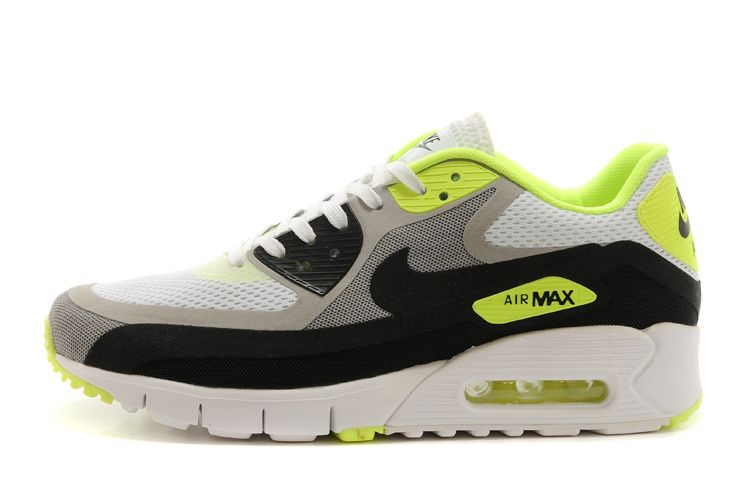 1500f855549e5 Men s sneakers Nike Air Max 90 Breathe white   black   yellow Cheap for  Sale Nike