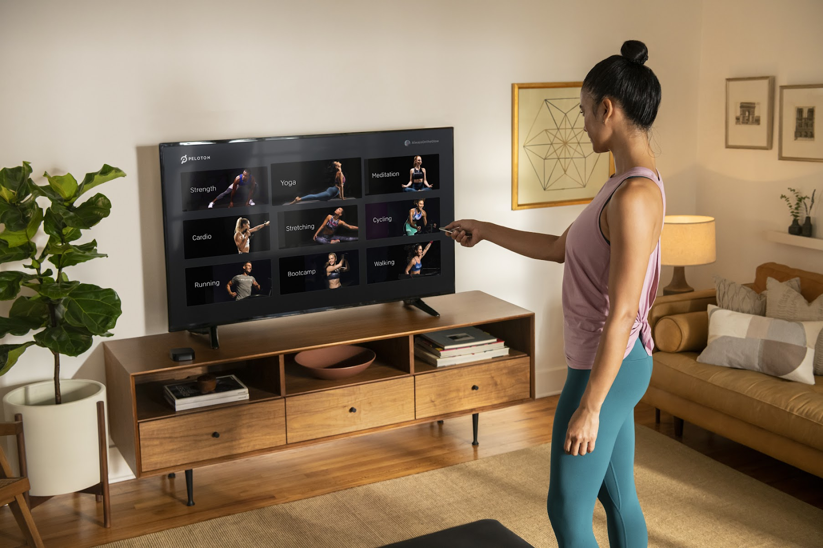 Can You Watch Tv On Peloton Pin On Peloton