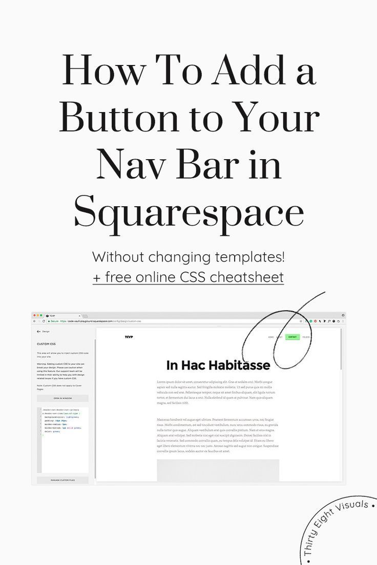 How To Make Your Last Menu Item Into A Button A Button Buttons