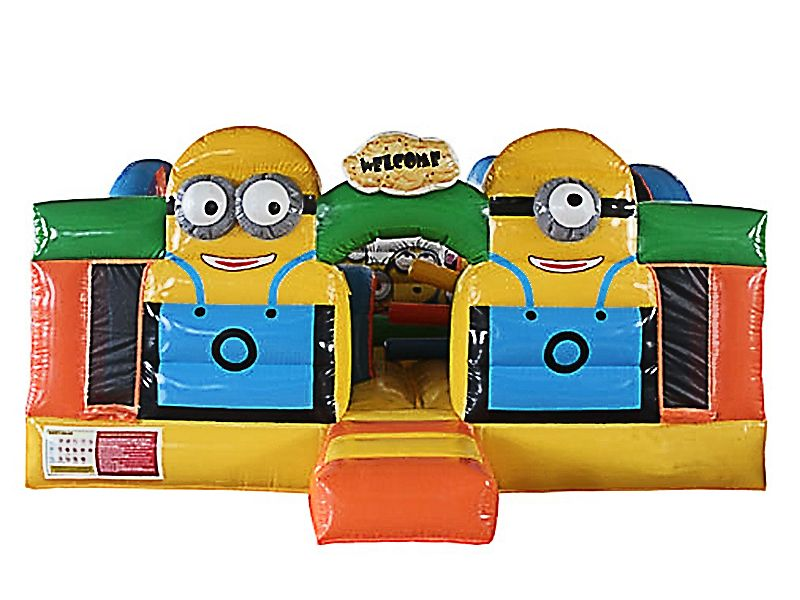 Find Despicable Me Inflatable Toddler Playground? Yes, Get