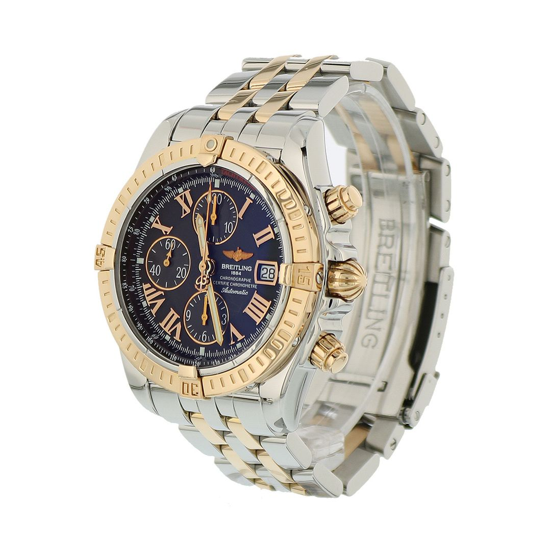 Breitling Chronomat 44 Stainless Steel Rose Gold C13356 Immaculate Condition Breitling Chronomat Breitling Breitling Watches