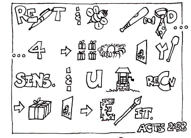 Bible Coloring Pages Acts 2