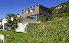 Image Result For Maison Sur Terrain Pentu Architecture Architecture Model House Styles