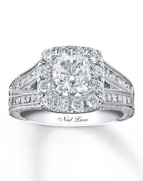 0dd5c7c84 Neil Lane Diamond Engagement Ring 2 ct tw Cushion-cut 14K White Gold -990643900