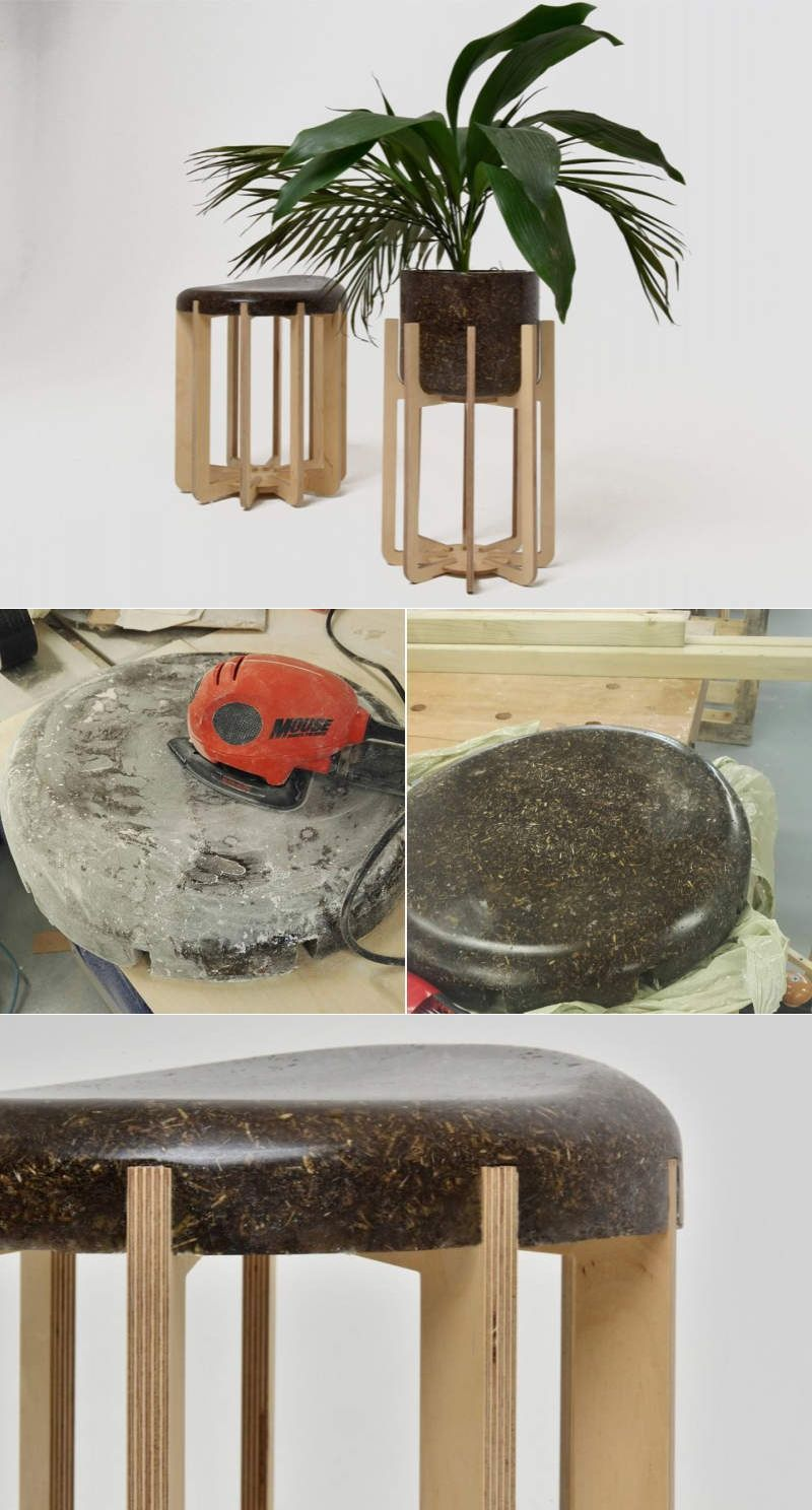 How About Furniture Made From Cow Manure Recycle Design