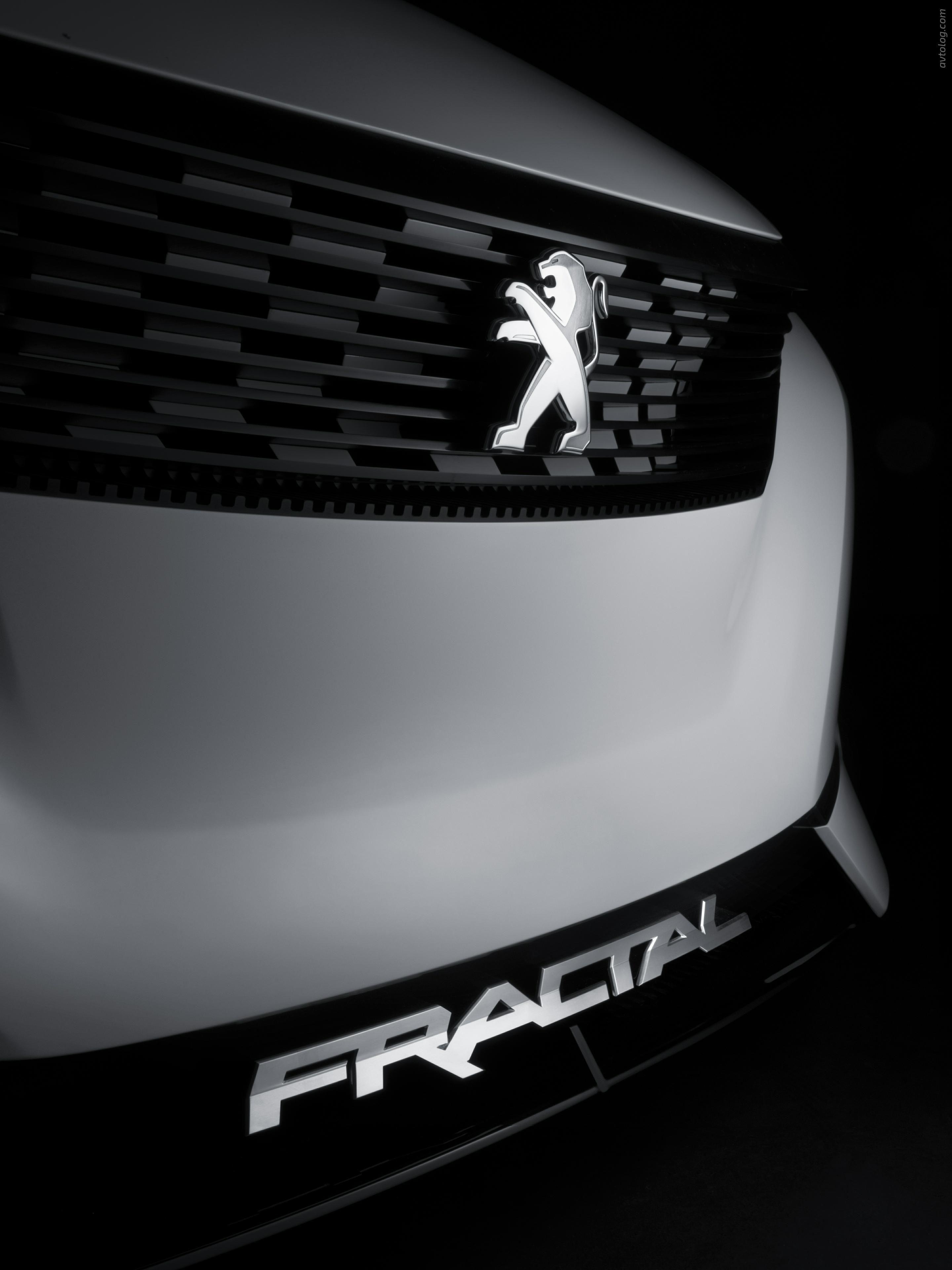2015 Peugeot Fractal Concept  #Peugeot #Peugeot_Fractal #2015 #Concept #French_brands #Segment_B #2015MY