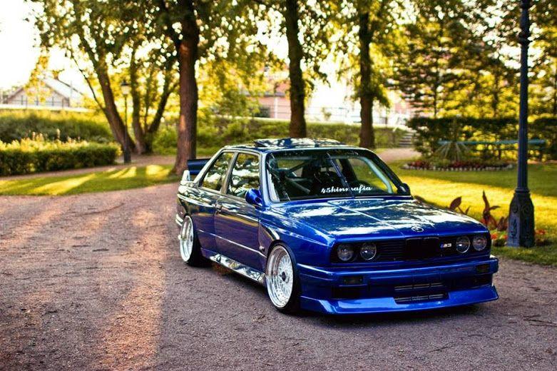Bmw E30 M3 Blue Bmw E30 Bmw Bmw E30 M3