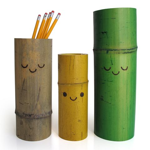 Cute Pencil Holders With Images Bamboo Diy Bamboo Design
