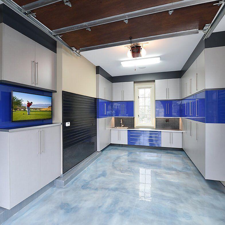 Sleek and Unique Metallic Epoxy Flooring! southbend