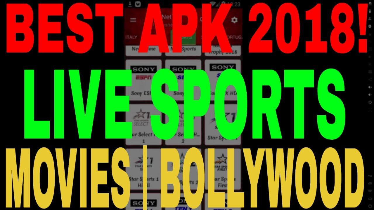 best apk for live sports 2018