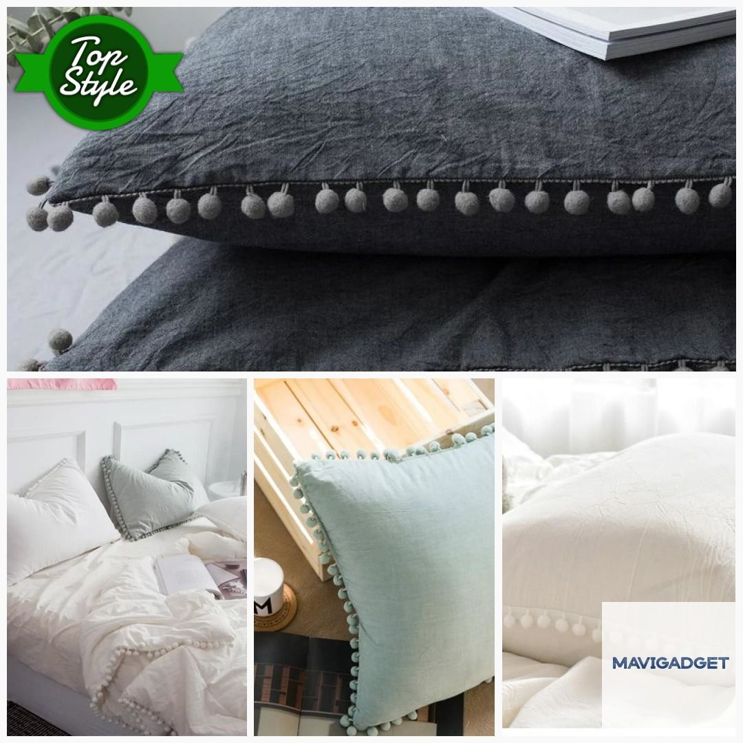 Solid Luxury Design Soft Beautiful Pillow Cases