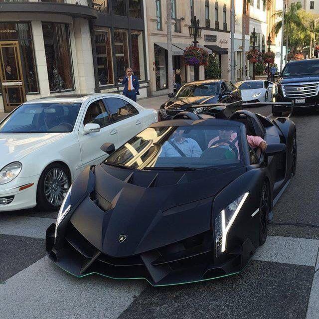 #Lamborghini Veneno Roadster Spotted On The Road