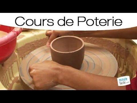 Poterie faire un bol sur un tour de potier youtube poterie et objets en terre pinterest - Fabriquer un tour de potier ...