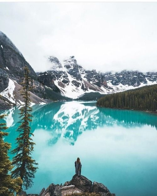 Would you rather.Iceland or Banff? Photo by...