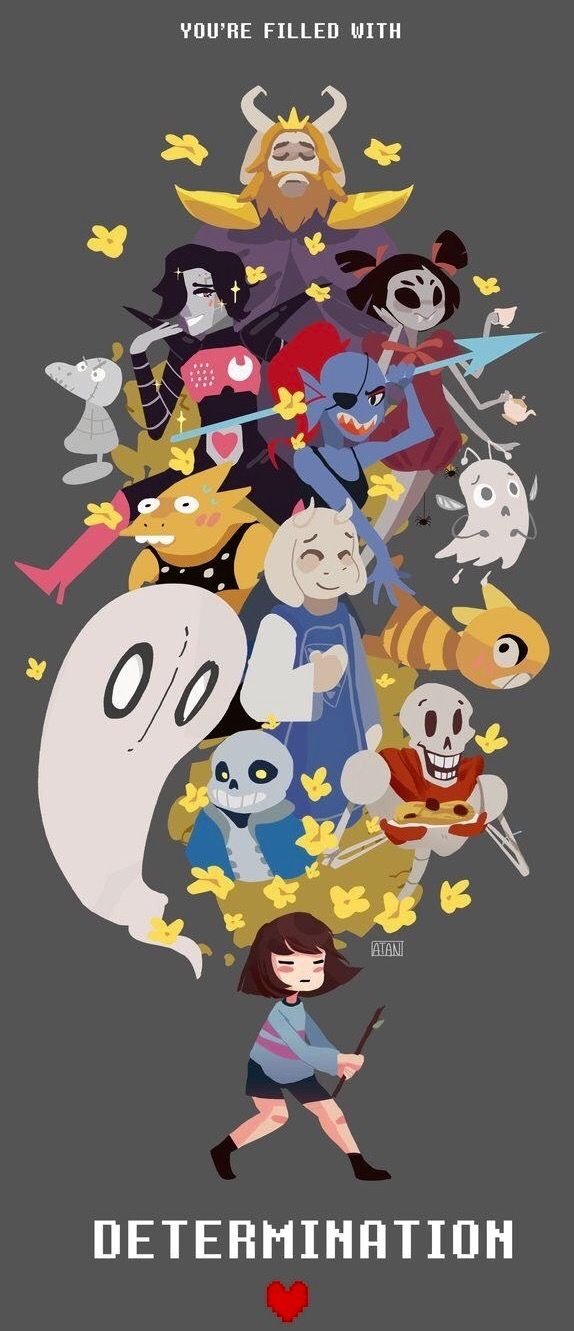 Determination Undertale Characters Undyne Wallpaper Personajes De Juegos Undertales