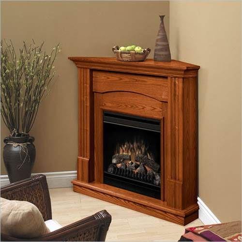 Dimplex Branson Corner Electric Fireplace Warm Oak Products