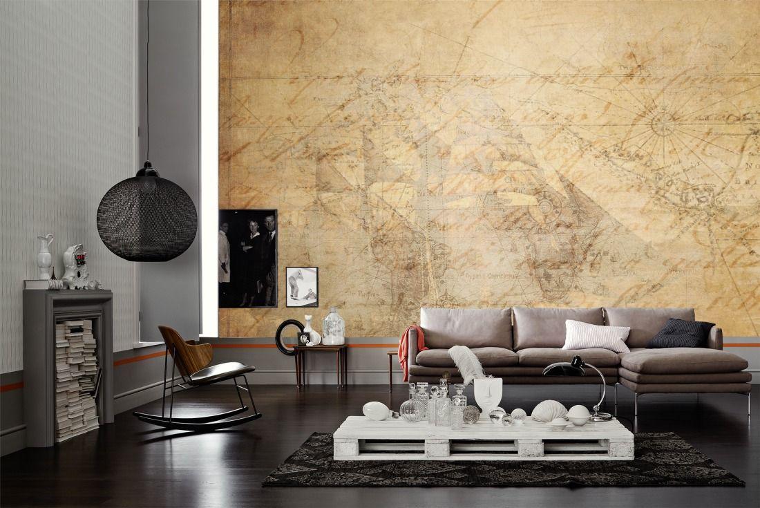 tapeten im wohnzimmer; livingwalls fototapete 036760 #industrial ...