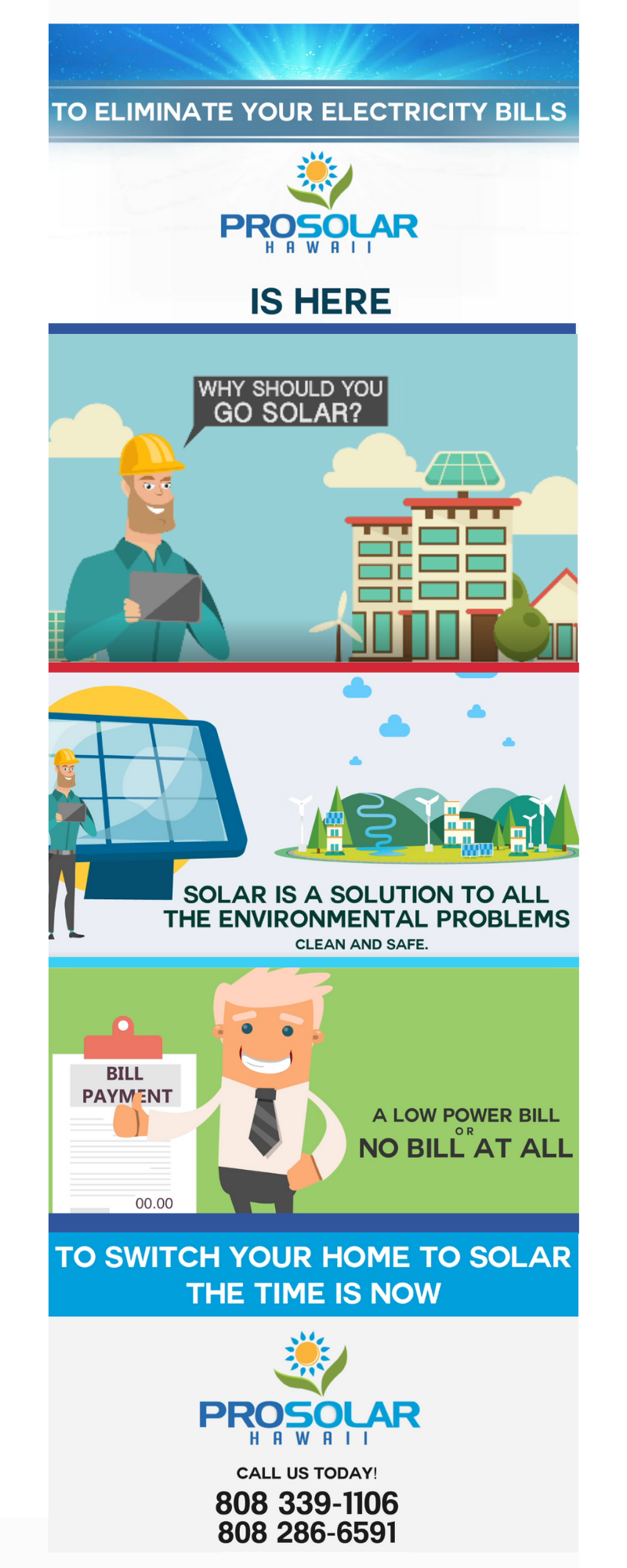 Eliminate Your Electricity Bills With Prosolar Hawaii Solar Power Energy Electricity Bill Solar Companies
