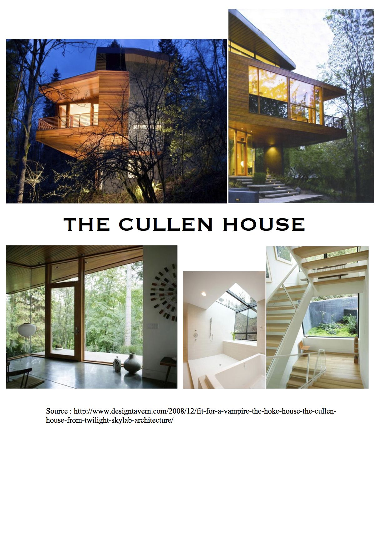 Cullen House (Twilight) Source: http://www.designtavern.com/2008 ...