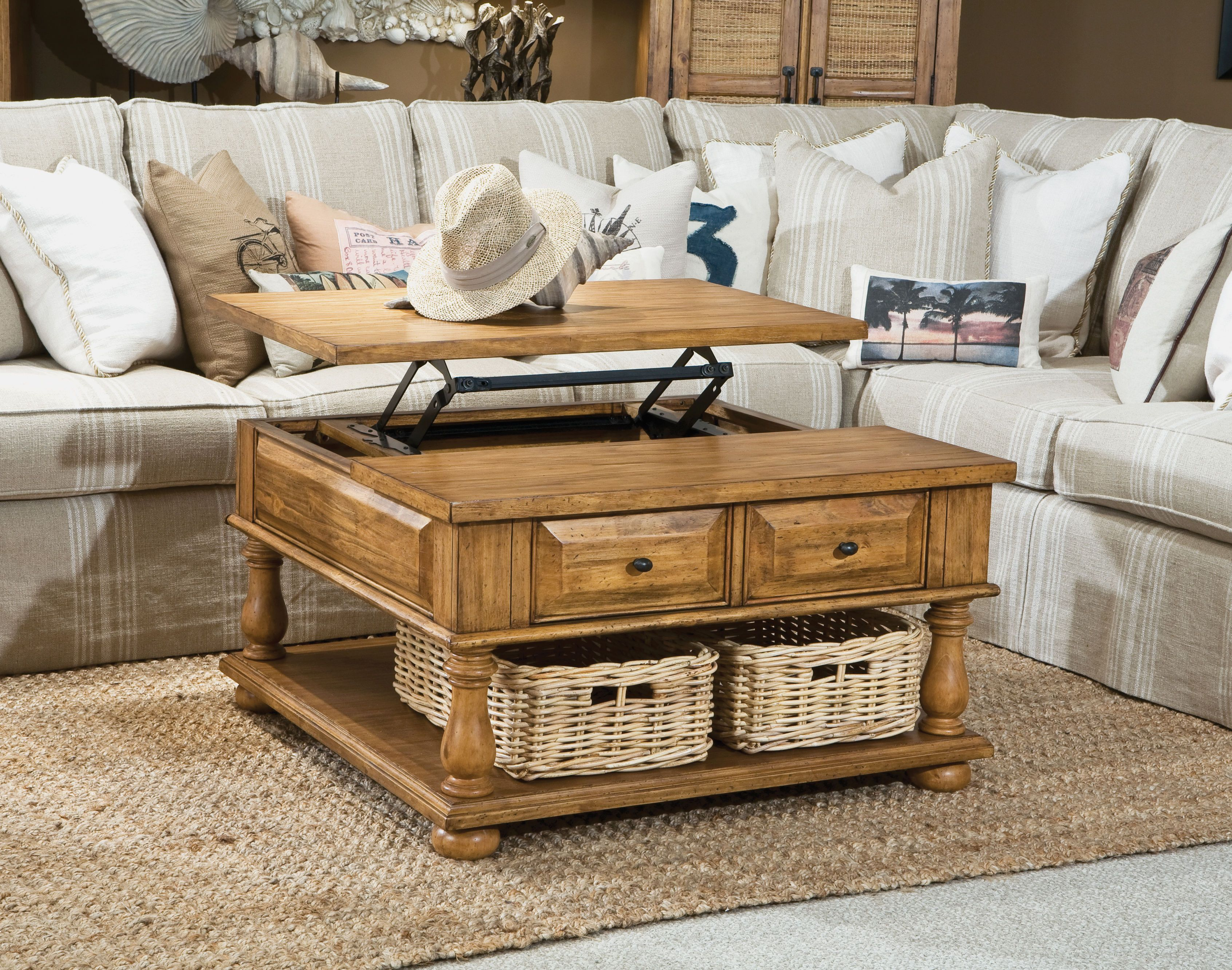 this table does it all! panama jack collections-coronado