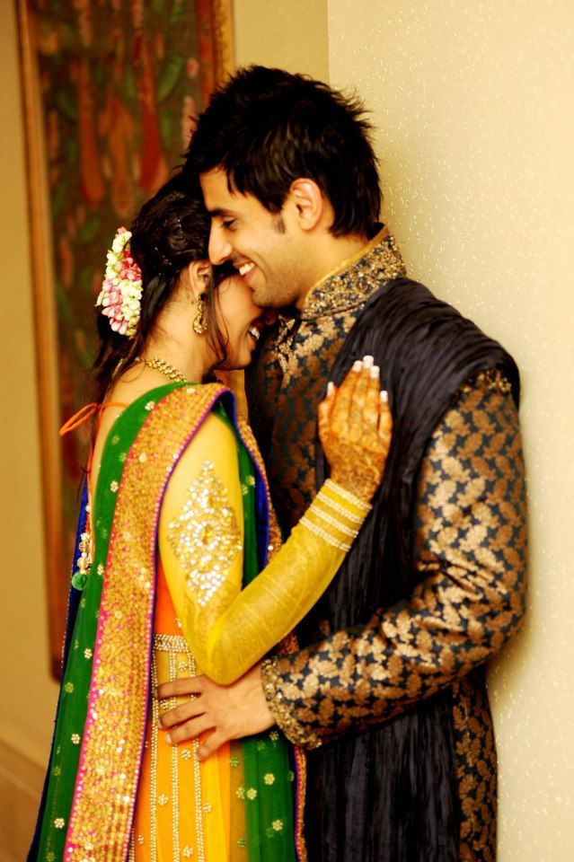 Love In Air Cute One Ever Indian Couple Ethnic Style Dress With Each Other A Very Natural Pose