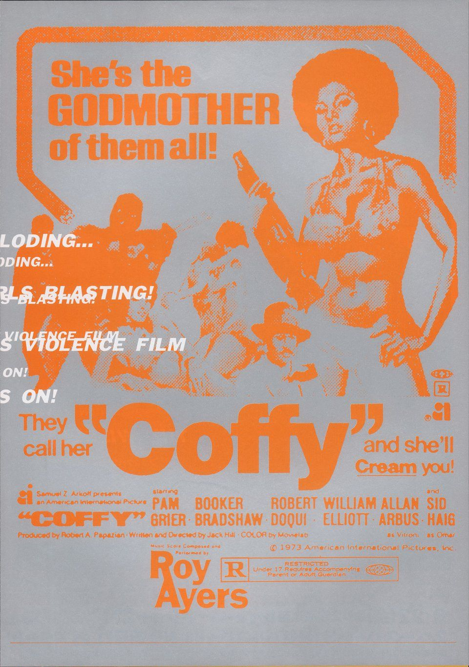 Coffy Switchblade Sisters 1990s Japanese B5 Chirashi Flyer Posteritati Movie Poster Gallery New York In 2020 Coffy
