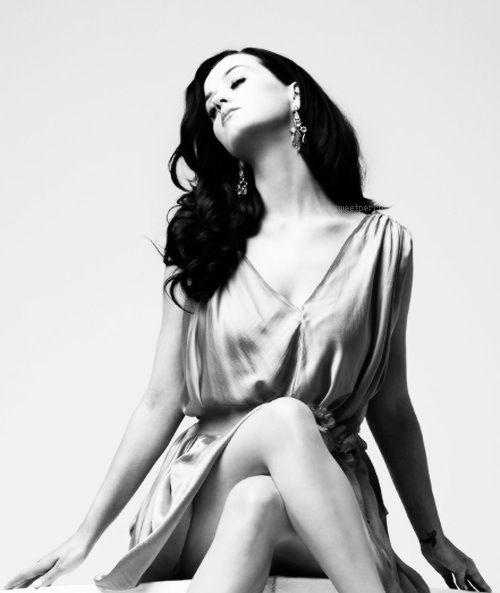 Katy Perry Photoshoot Black And White