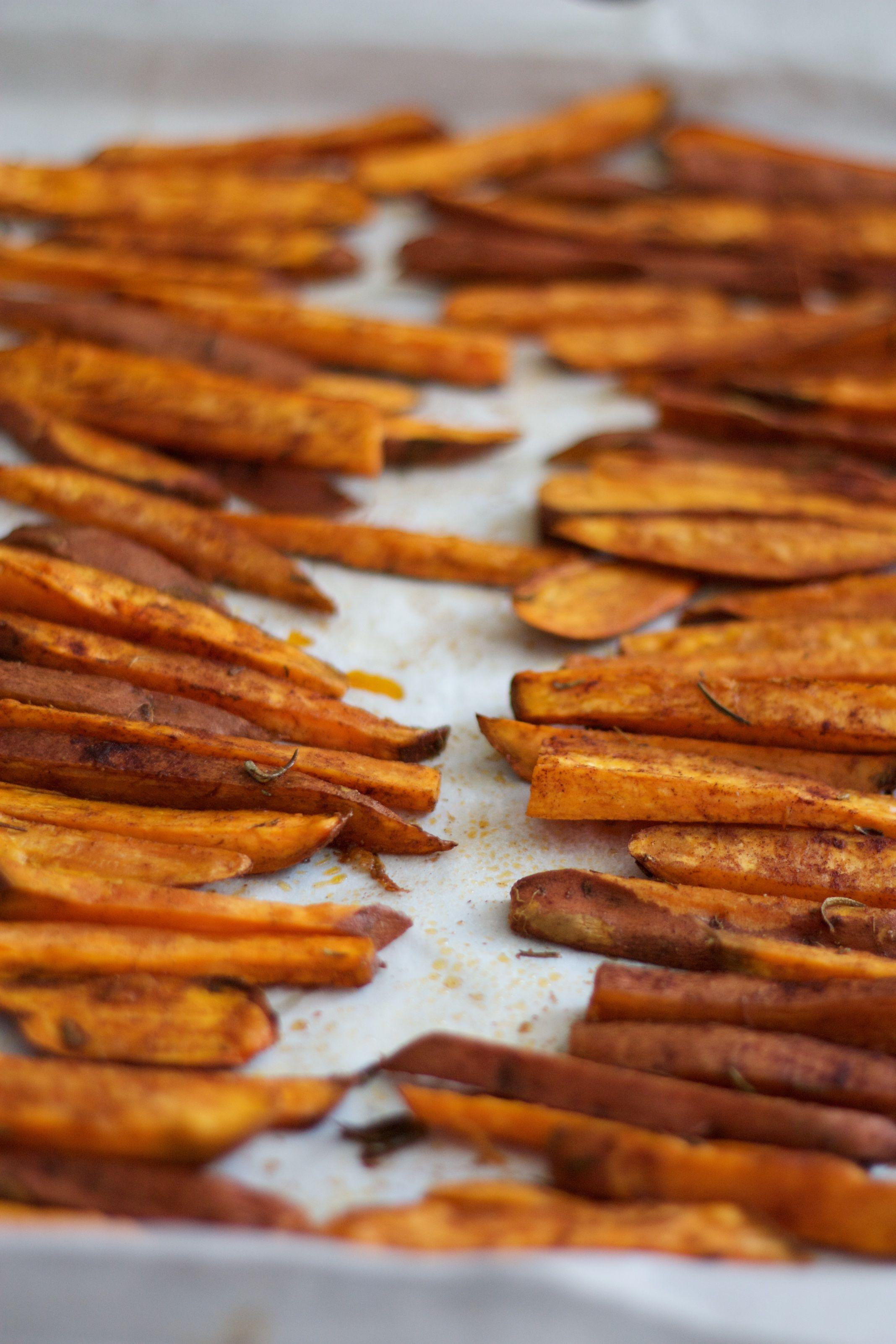 Frites de patates douces au four   Patate douce au four ...