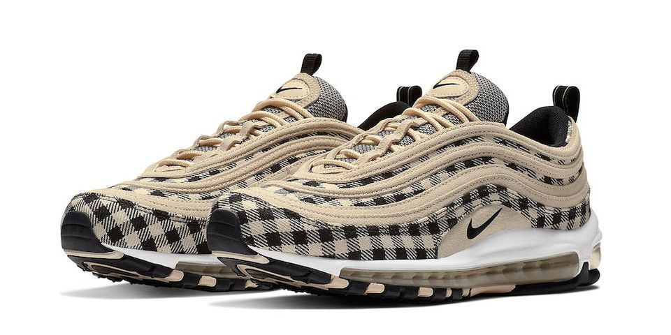 Nike Updates the Air Max 97 in Gingham Plaid   Sneakers