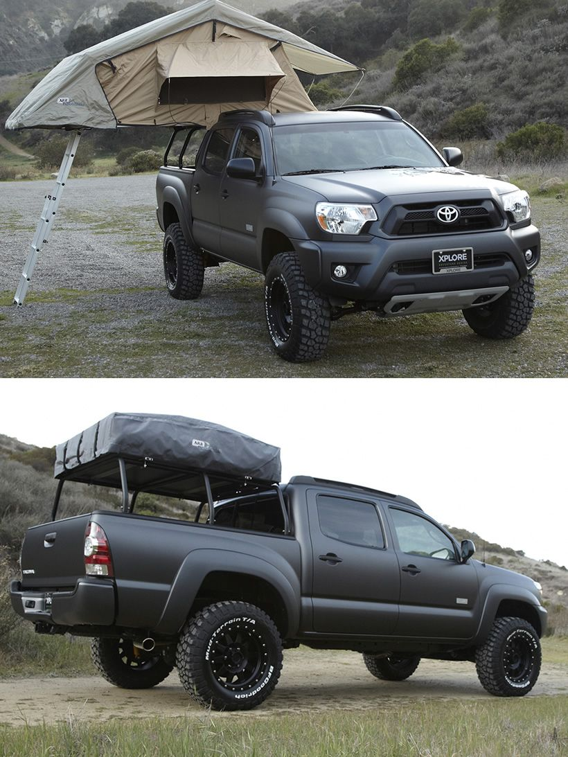 Toyota Tacoma By Xplore Vehicles Travel Pickup