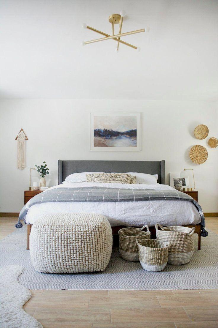 Natoli Pouf in 2020 Bedroom interior, Home decor bedroom