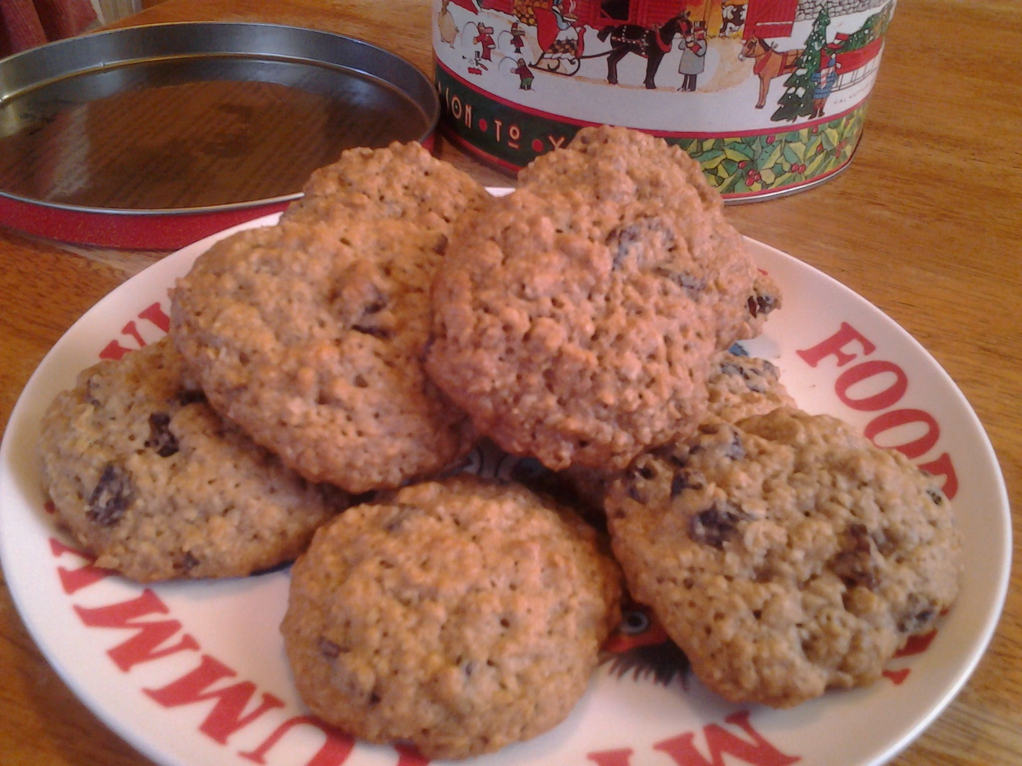 These Cookies Are Made With The Quaker Brand Vanishing Oatmeal